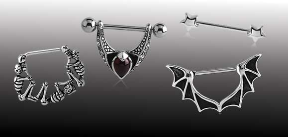 Nipple Piercing Jewellery
