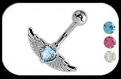 Belly Bar with Wings