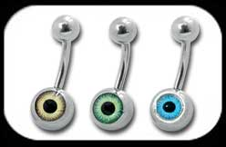 Eyeball Belly Bar
