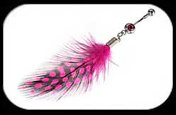 Feather Belly Bar 2 Pink