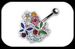 Stone Collage Belly Bar