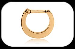 Gold Plated Septum Clicker